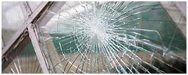 Lancaster Gate Smashed Glass